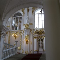 The grand entry staircase (Hermitage)