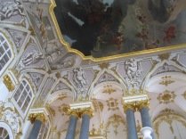 Ceiling above the grand staircase