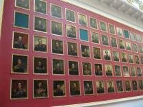 Wall of Napoleonic era nobles