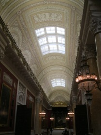 And a view of the ceiling details