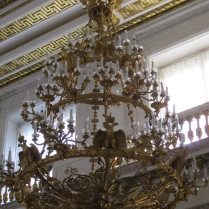 Gorgeous chandeliers...