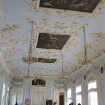 Frescos in the Hermitage