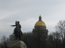 What can I say? Bronze Horseman + St Isaac's = good shot