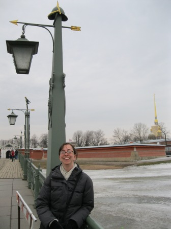 Broader view of the Peter and Paul Fortress