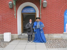 Wax figure in the Fortress