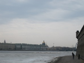 The Neva and Hermitage from the Peter and Paul Fortress