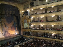 Before the ballet, Mariinskii Theater