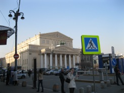 My first view of the Bolshoi