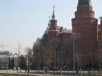 Closer to the Kremlin