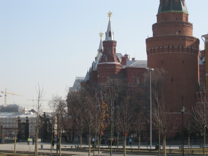 Closer to the Kremlin