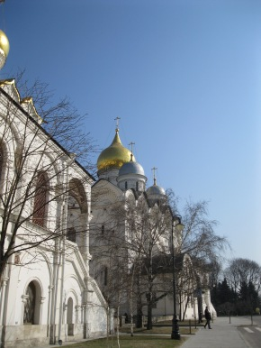 The first of many Kremlin churches