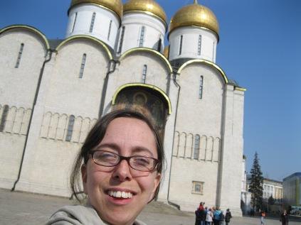 I'm at the Kremlin!