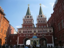 Heading into Red Square