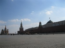 Red Square - picture the 20th century history!