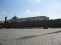 The weird procession of cars that closed of Red Square