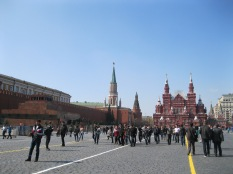 So many people in Red Square, and this is a good day!