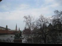 View of Red Square from St Basil's