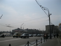 A glimpse of Moscow traffic