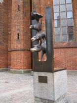 Musician of Bremen statue