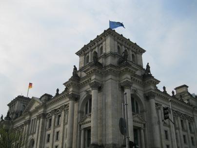 Close-up of Parliament