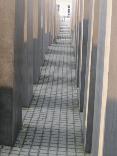 Walking in the Holocaust Memorial