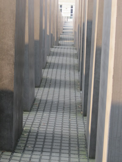 Walking in the Holocaust Memorial