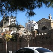 Recoleta cemetery view
