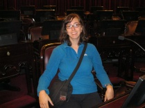 Sitting in a Senado seat...hmm, pretty comfy