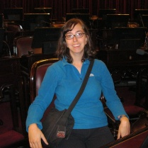 Sitting in a Senado seat...hmm, pretty comfy