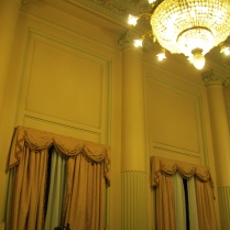 Pink room - originally for women in the Congreso
