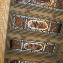 Another beautiful ceiling in the Congreso building