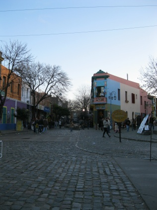 El Caminito - a far view