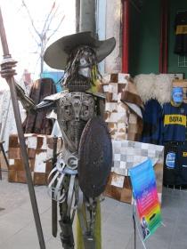 A knight near La Boca
