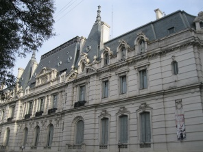 Palacio de Paz on Plaza San Martin