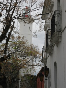The lighthouse in Colonia