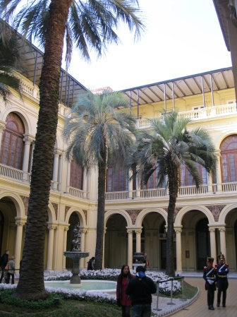 Courtyard in the Casa Rosada