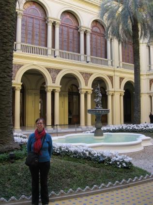 Me in the Casa Rosada