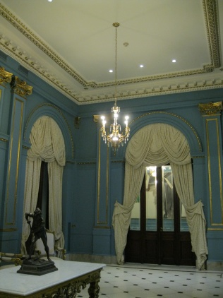 Room in Argentine colors