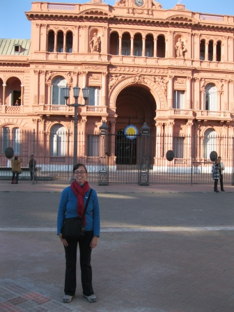 Me at the Casa Rosada