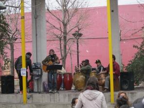 Street music!