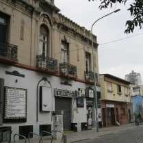 A street in Abasto near the Gardel house