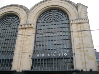 The old Abasto central market, now a mall