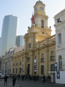 Outside view of the old Cabildo, Plaza des Armas