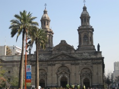 Cathedral in Santiago, Plaza des Armas