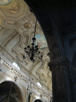The Santiago Cathedral, interior detail