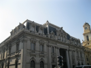 Correo Central (Central Post Office) de Santiago