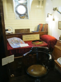 An officer's cabin