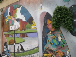 Valparaiso is starting with street art...