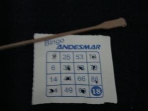 Andesmar bingo - a tradition