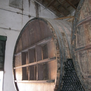 Once upon a time they aged wine in these huge barrels